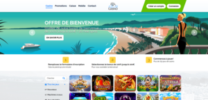 copie d'ecran azur casino